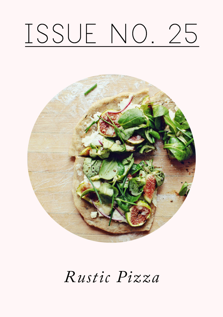 RUSTIC FIG AND GOAT CHEESE PIZZA