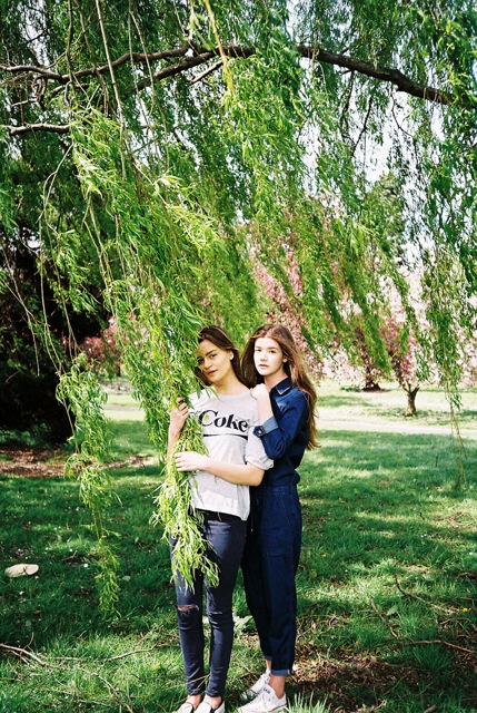 CARMEN & JEN // PHOTOGRAPHY BY AMY LIDGETT