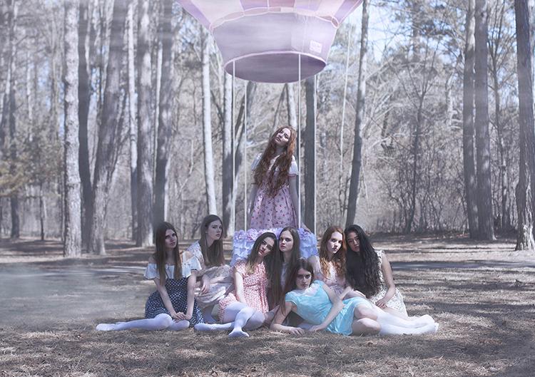 KATE, SYDNEE, EMMA, FIONA, ALICE, KIANA, QUINN & IEVGENIIA  // PHOTOGRAPHY BY GERALD LAROCQUE
