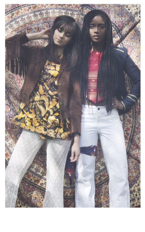 GERMAINE & NADIA // PHOTOGRAPHY BY LAURA ANDALOU