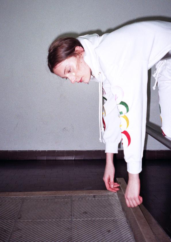 editorial fotografin sojin park material girl magazine