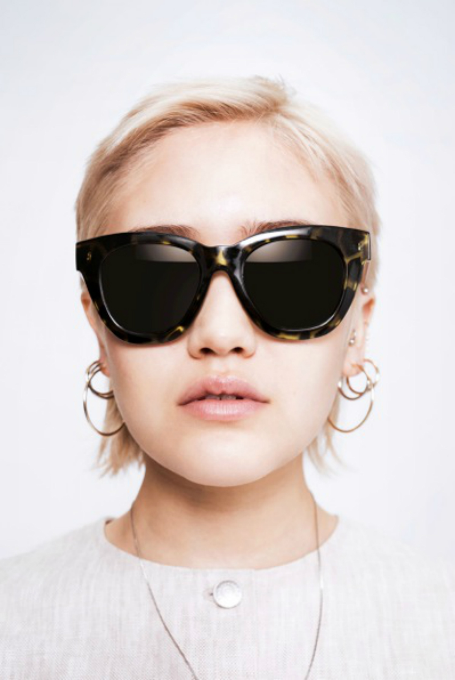 Sunglasses from WEEKDAY H&M Minimalism