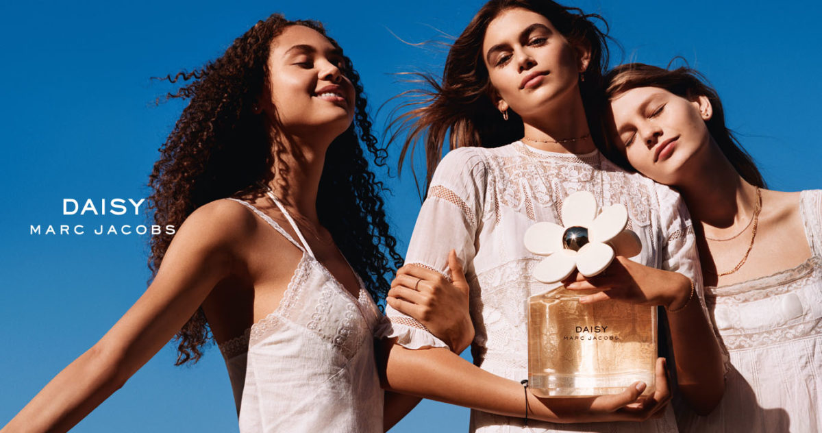 CINDY CRAWFORD'S DAUGHTER KAIA GERBER IS STARRING IN NEW MARC JACOBS CAMPAIGN
