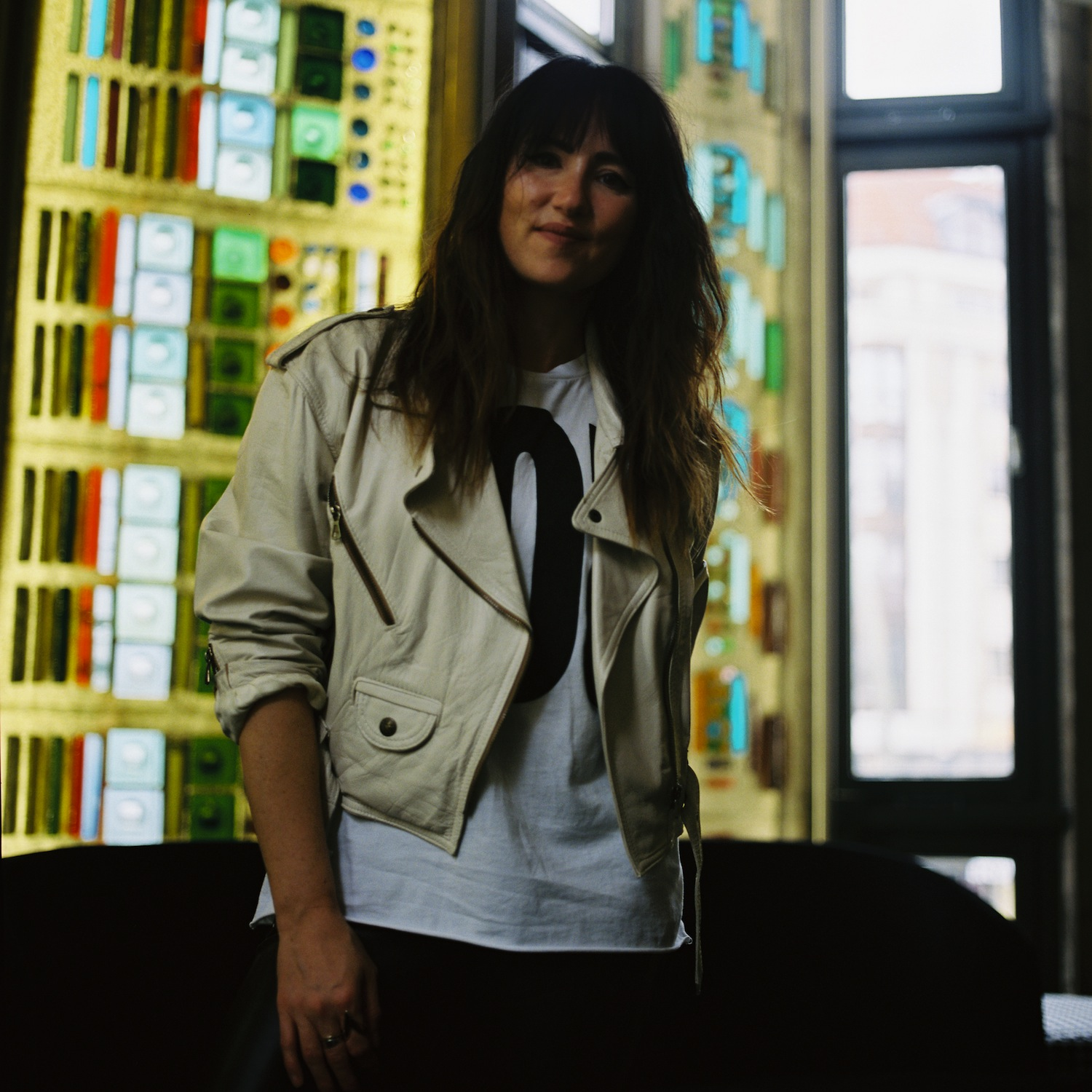 KT Tunstall before her gig in Berlin's Friedrichstadt Palast