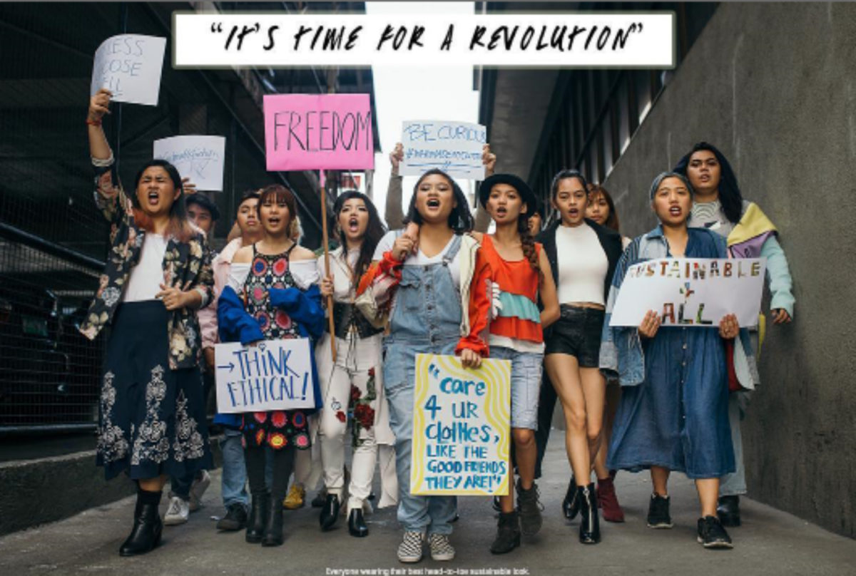 IT'S FASHION REVOLUTION WEEK: HOW TO GET INVOLVED