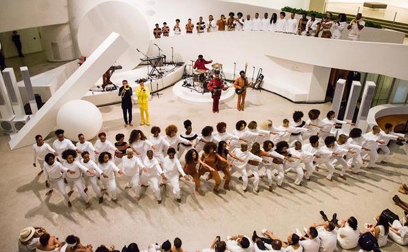 Solange Guggenheim performance