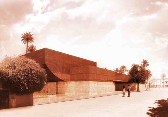 YVES SAINT LAURENT MUSEUM MOROCCO