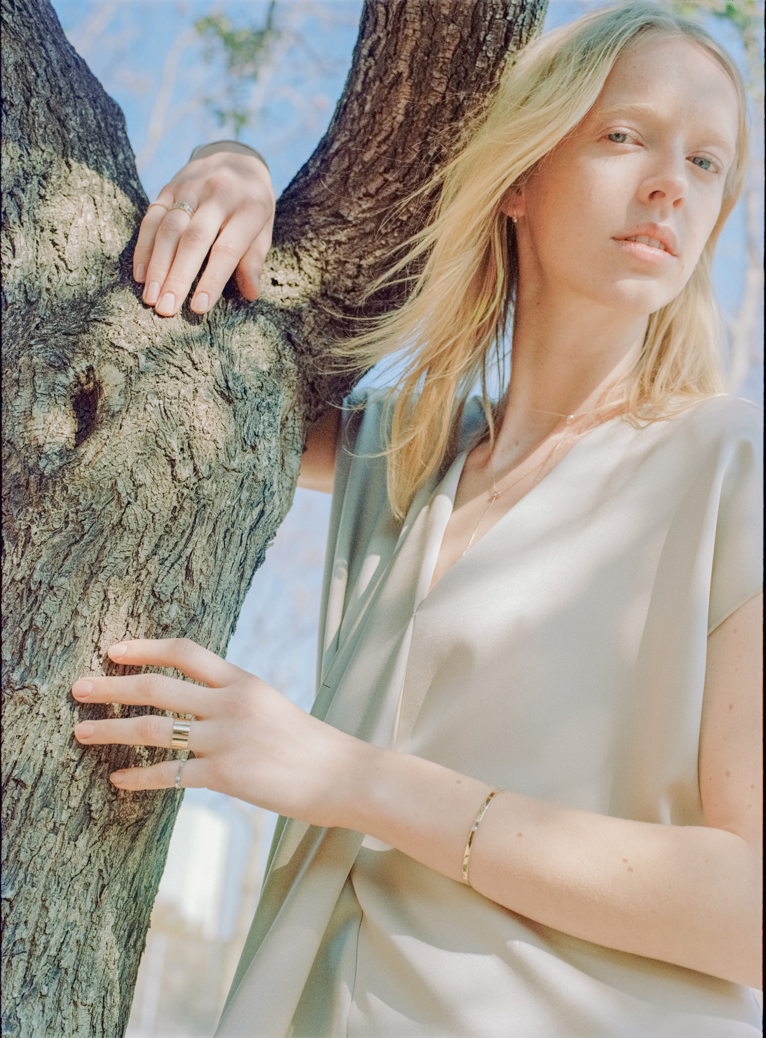 sustainable jewelry lilian von trapp material magazine