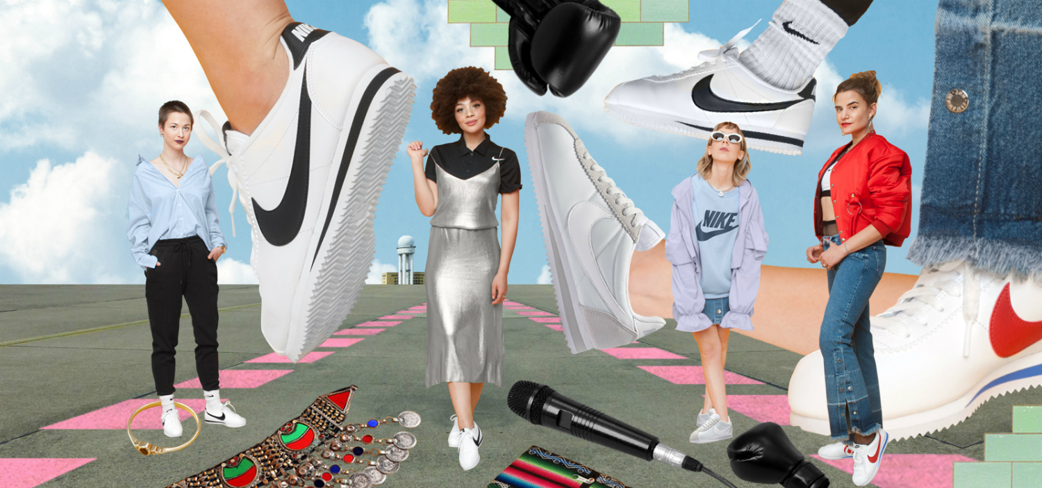 curated by girls nike female empowerment material magazine