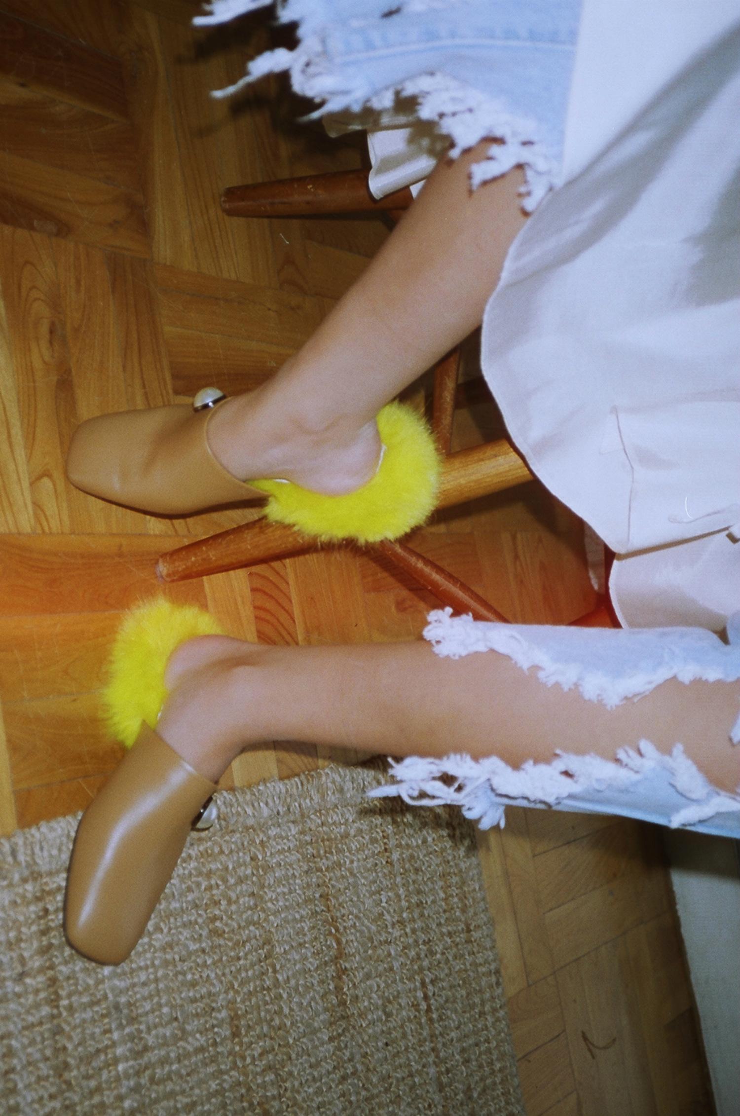 Yuul Yie Korean Shoe Label Material Magazine