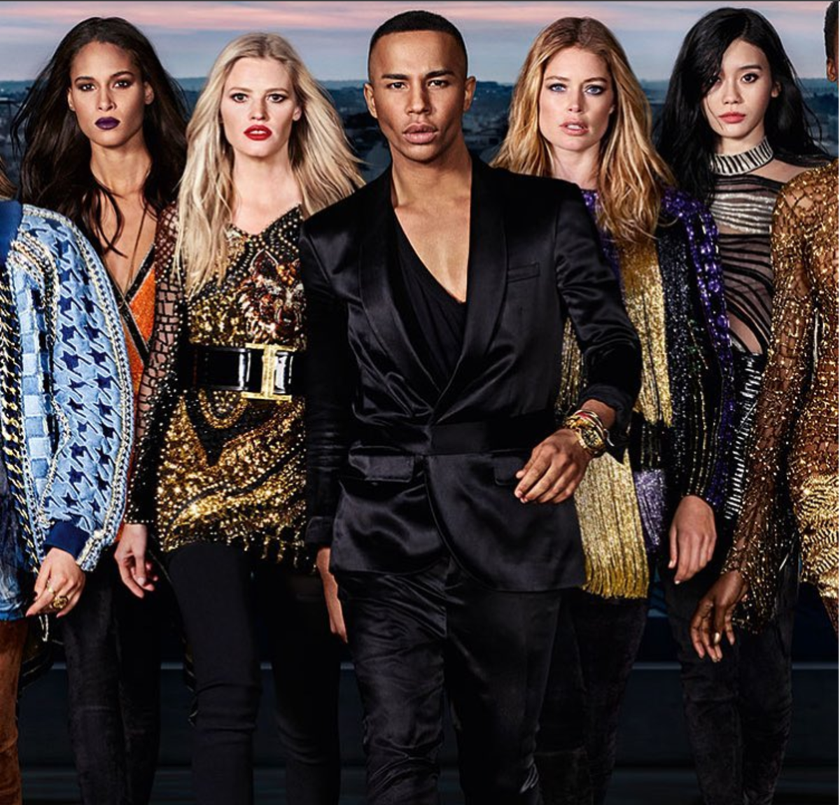 BALMAIN AND L'ORÉAL DIVE INTO DIVERSITY FOR NEW COLLABORATION