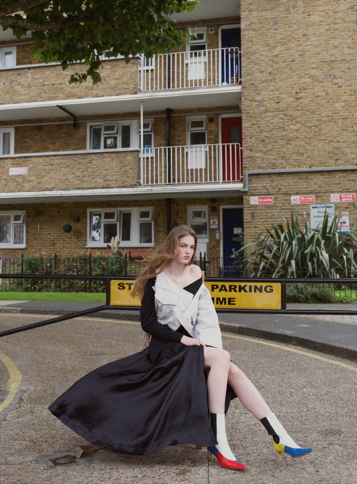 Glamorous suburbs editorial by celine hong
