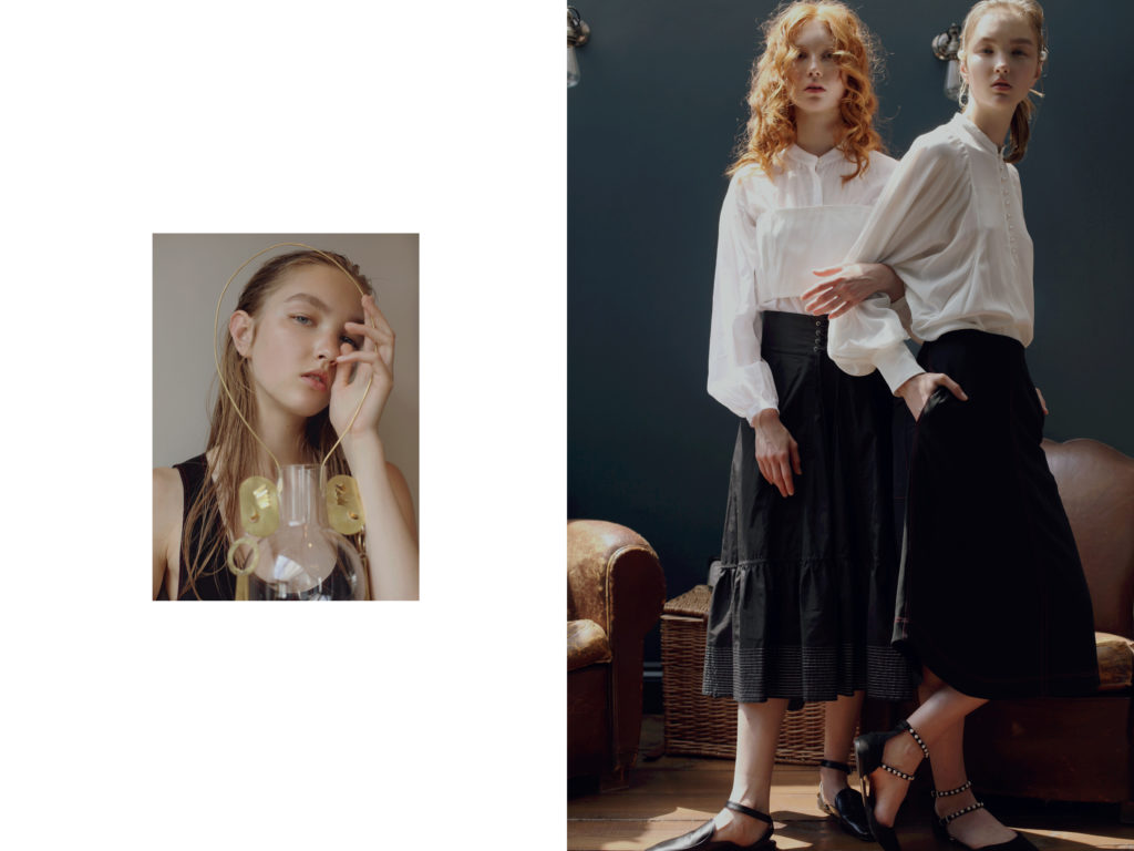 Fashion editorial Roni Ahn