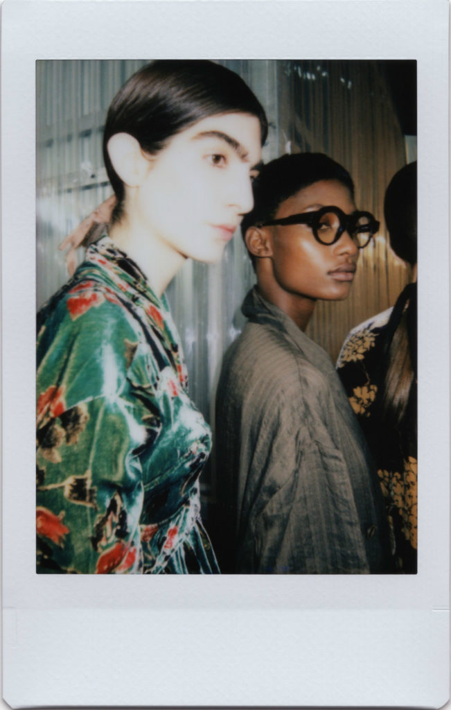 Backstage Uma Wang SS18 Paris Fashion Week