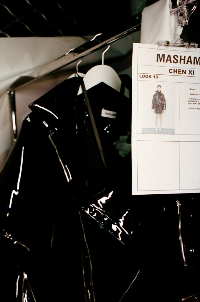 Backstage Mashama SS18 Paris Fashion Week