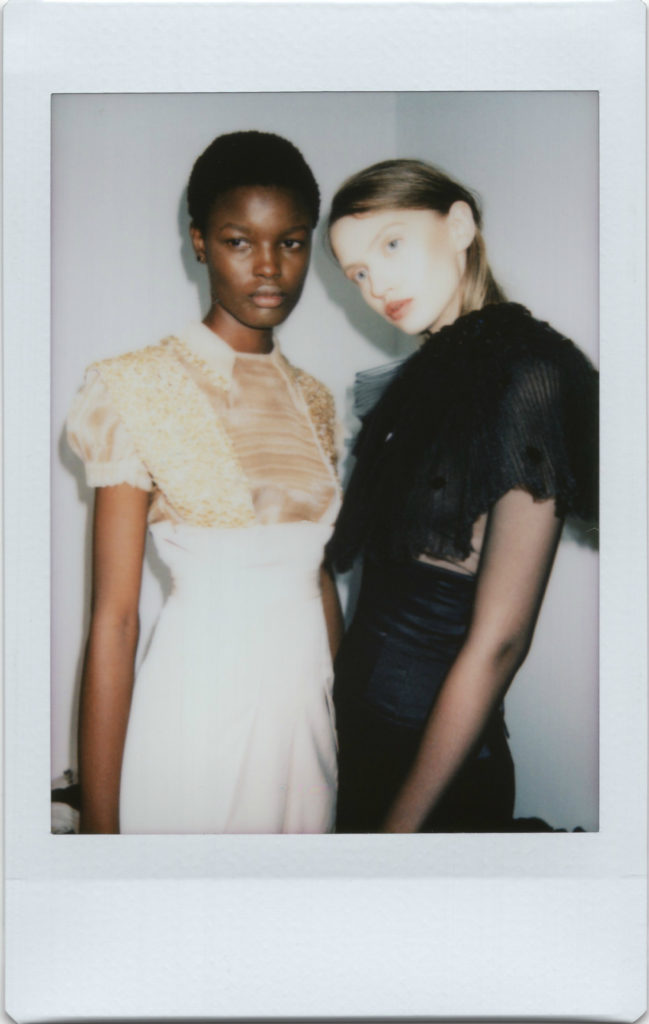 Backstage Nobi Talai SS18 Paris Fashion Week