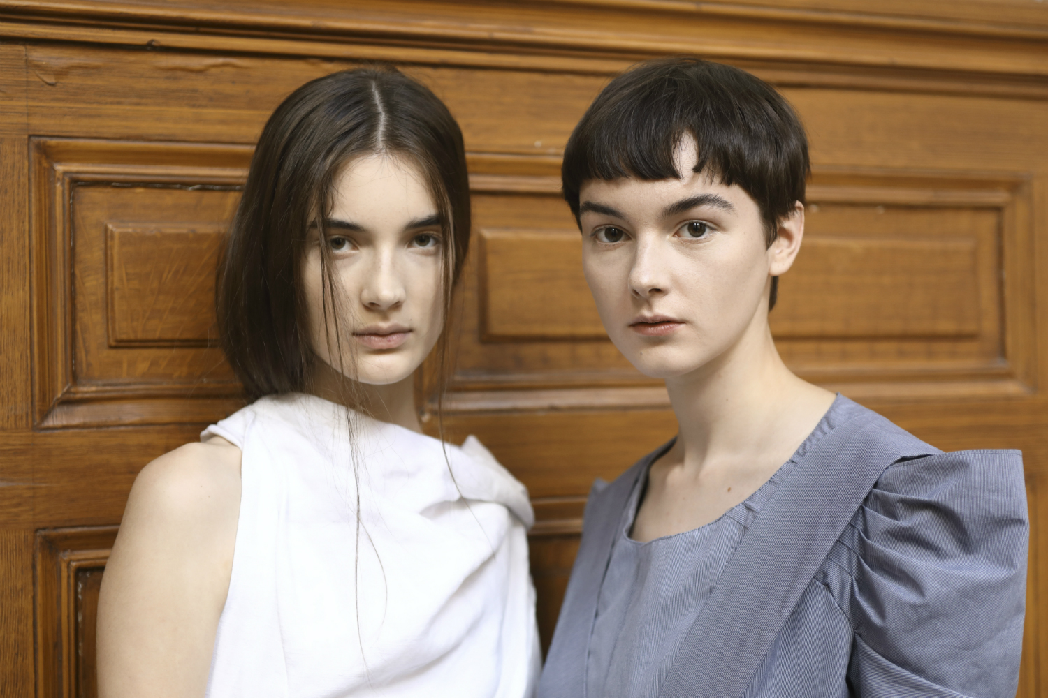 Moon Young Hee SS18 Backstage Paris Fashion Week