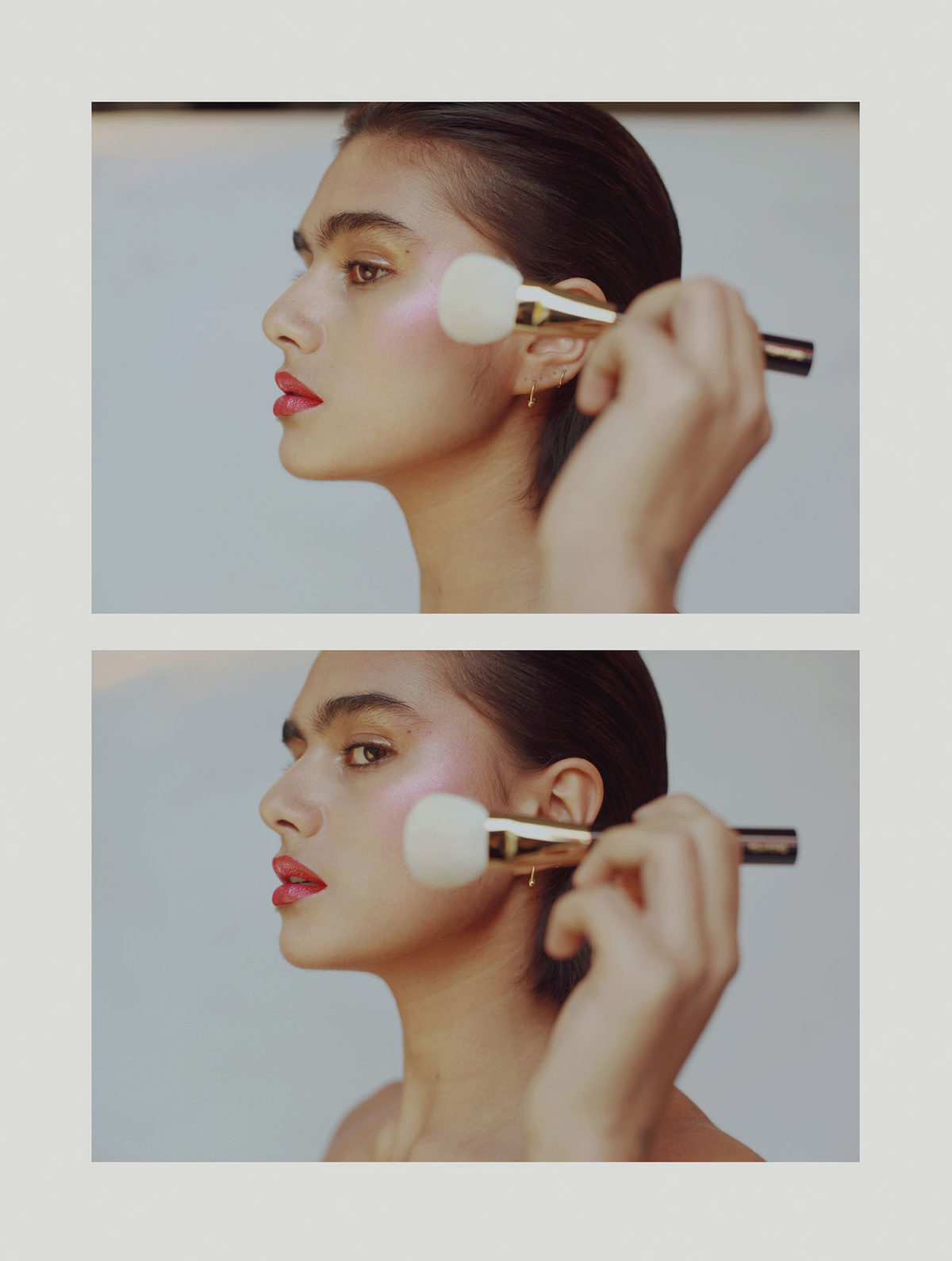 THIS PEACHY EDITORIAL WILL PROVIDE YOU THE SUMMER BEAUTY INSPIRATION YOU NEED