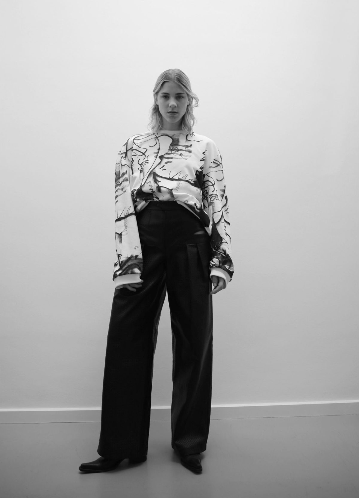 SPEAKING GARMENTS LAUNCH NEW CAPSULE COLLECTION WITH ARTIST JAN-OLE SCHIEMANN
