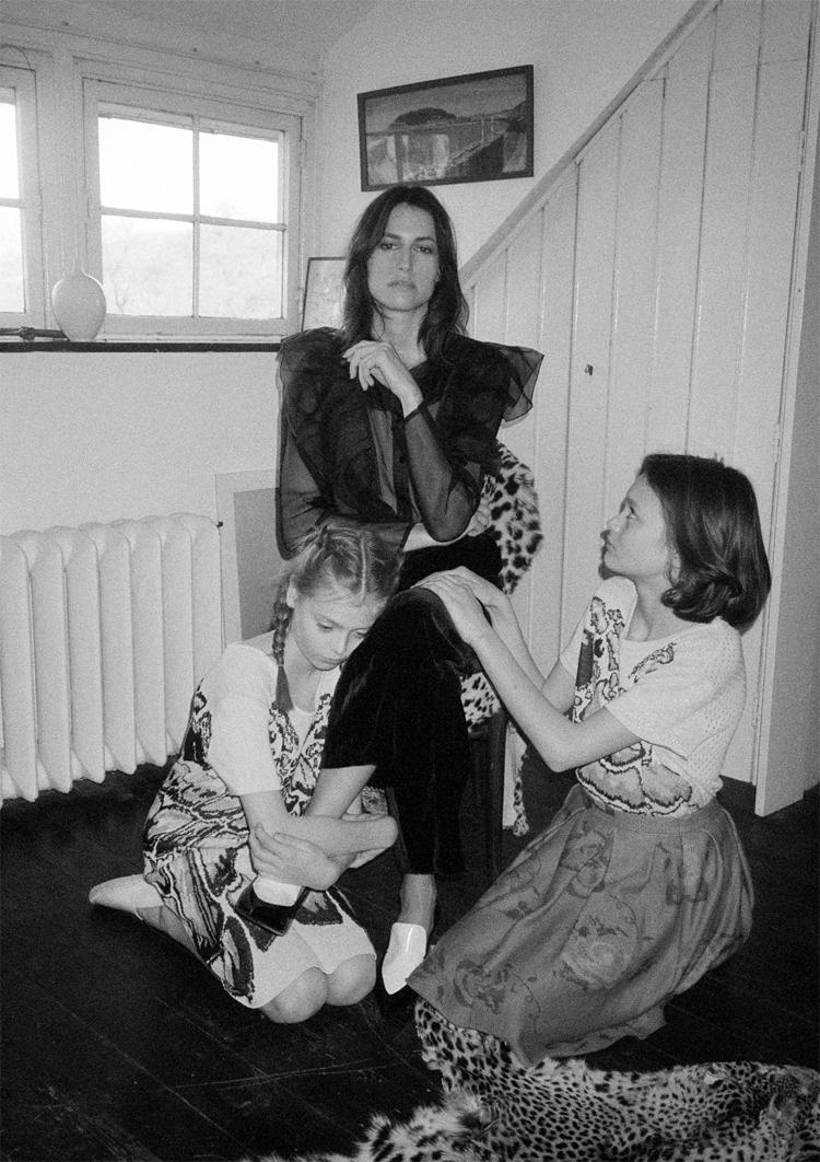 JASMIN, FELIPE & COSIMA // PHOTOGRAPHY BY EVA BAALES