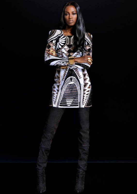 LOOKBOOK: EIGHTIES GLAM BEI H&M x BALMAIN
