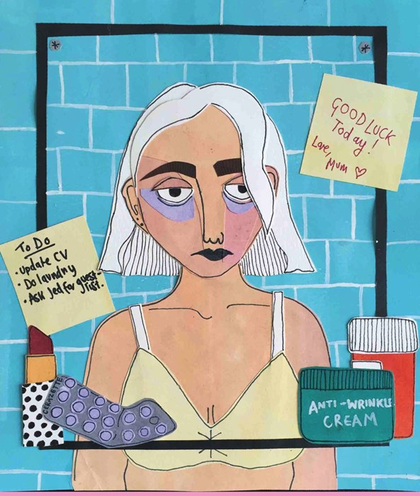 GIRLS / CLUB: THE ZINE ILLUSTRATING THE REALITIES OF BEING IN YOUR TWENTIES