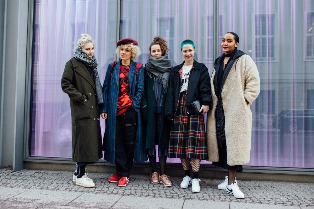 UNTERWEGS AUF DER FASHION WEEK BERLIN