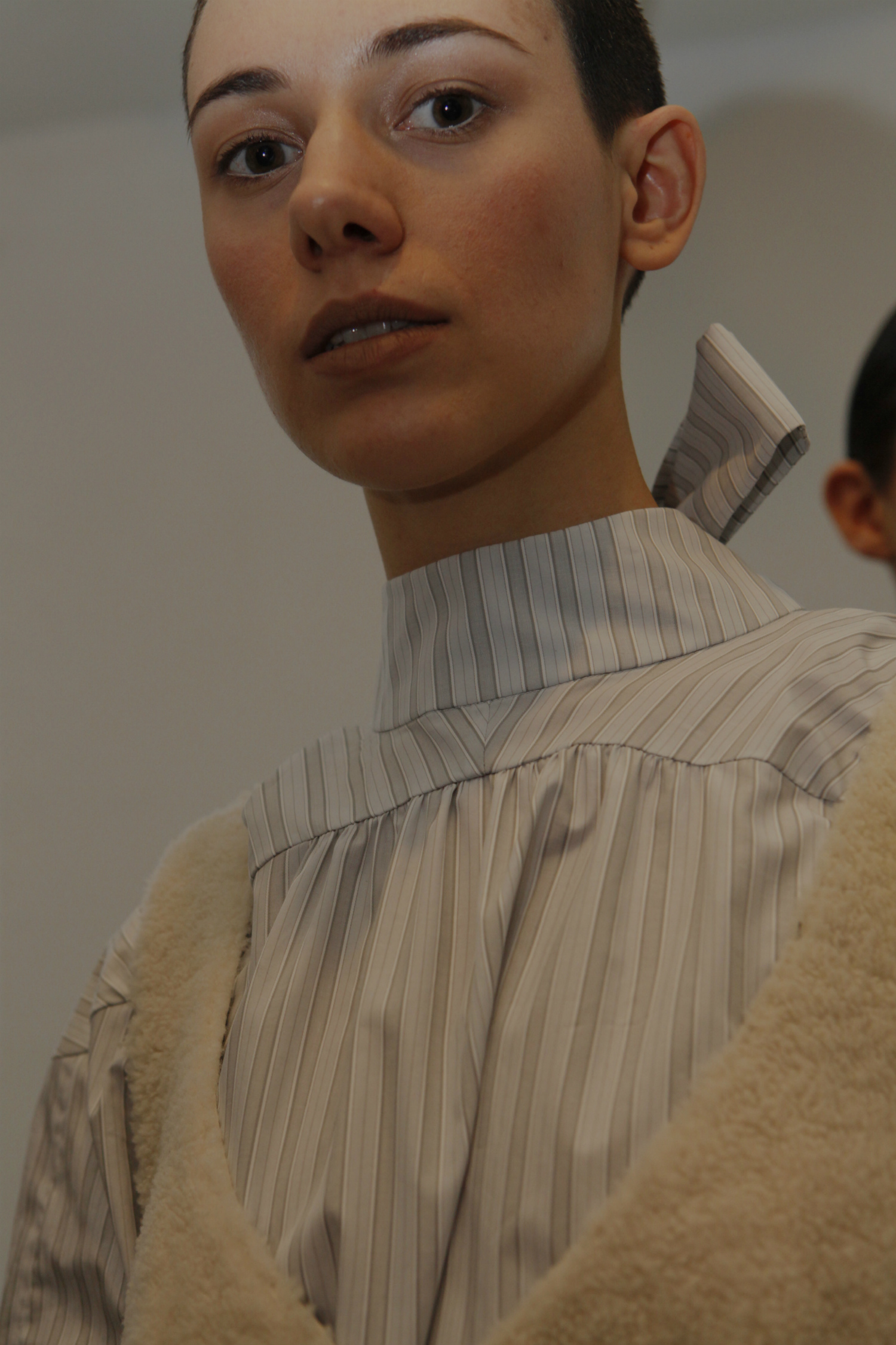 Anne Sofie Madsen A/W 2017 backstage paris fashion week material girl