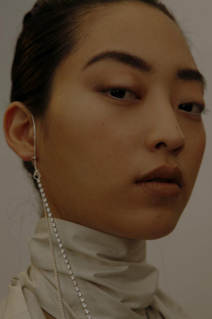 Anne Sofie Madsen A/W 2017 backstage paris fashion week material girl
