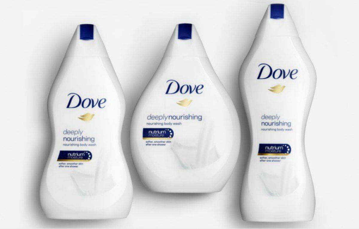 """THE PROBLEM WITH """"BODY-POSITIVE"""" DOVE BOTTLES"""