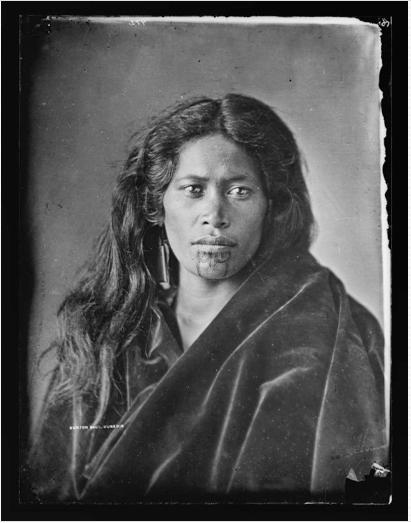 MAORI WOMEN SOLDIER RD MAORI NEW ZEALAND INDIGENOUS FIRST NATION TRIBE HERITAGE POC
