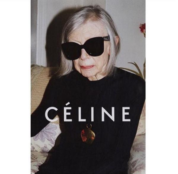 best fashion ad campaigns celine joan didion juergen teller