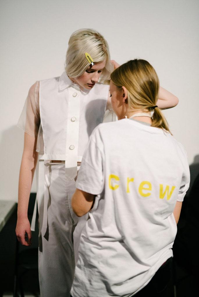 LFW Backstage London Fashion Week SS18