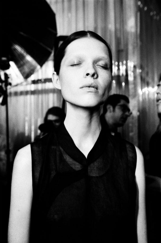 Backstage Uma Wang SS18 Paris Fashion Week