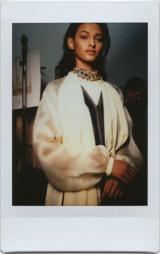 Backstage Nobi Talai SS18 Paris Fashion Week