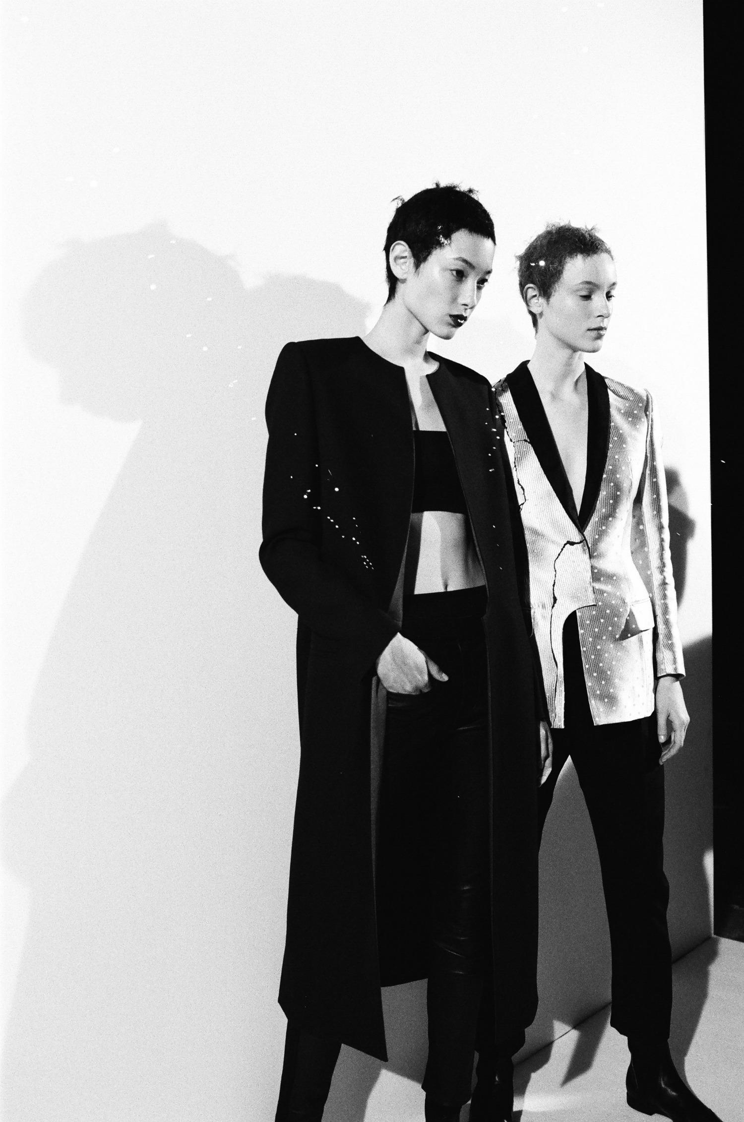 Haider Ackermann SS18 Backstage Paris Fashion Week